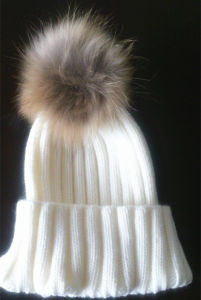 Raccoon Hair Bulb Natural Fur Hat Es1503-23 pictures & photos