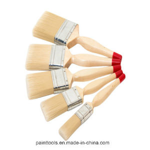 Natural Bristle Paint Brush with Tapered Filament B010 pictures & photos