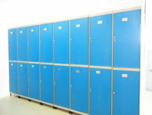 Electronic Barcode ABS Plastic Locker Js38 pictures & photos
