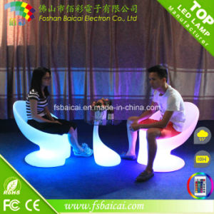 Outdoor Party 16 Color Changing Lighting LED Table Bar Illuminated LED Coffee Table Passed CE, RoHS