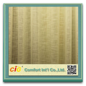 Yarn Dyed Cross Grain Sheer Curtain Fabric Cross Curtain pictures & photos