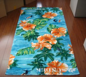 100% Cotton Custom Printed Towel pictures & photos