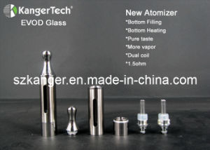 New Dual Coils Kanger Evod Glass Clearomizer in 2014 pictures & photos