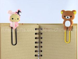 3D Soft PVC Rubber Paper Clip for Souvenirs pictures & photos