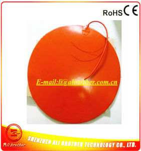 110V 1400W Diameter 660*1.5mm Silicone Rubber Heater for 3D Printer pictures & photos
