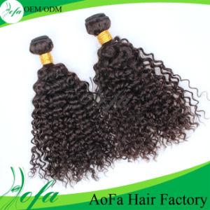 Guangzhou Aofa 100% Brazilian Virgin Hair Kinky Curly Human Hair Extension pictures & photos
