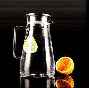 Heat Resistant Borosilicate Glass Kettle Tea Pot Juice Pot Cold Drink Pot pictures & photos