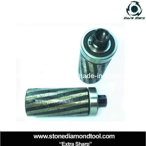 Thread M14 Brazed Diamond Core Finger Bits pictures & photos