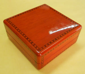 Factory Price Hand Made Wooden Watch Box pictures & photos