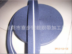 High-End Polyester Cotton Ribbon with Black and White Color pictures & photos