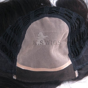 Mono Lace Virgin Remy Human Hair Lace Wig pictures & photos