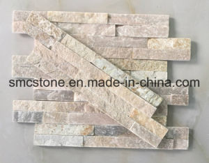 10*40cm China Natural Rusty Slate Wall Cladding (HHSC10X40-003) pictures & photos