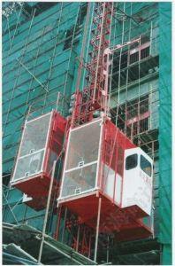 Building Hoist Single Cage SC320/320GZ pictures & photos