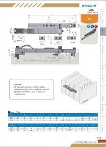 Latch Locking Unit Z170 Z173 Z172 Z173 Hasco Standard DIN Dem pictures & photos