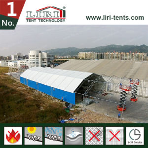 Metal Frame Polygon Warehouse Tent with Waterproof PVC Cover pictures & photos