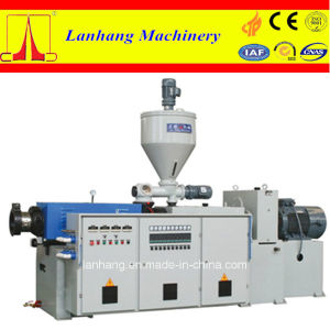 High Quality and Low Noise Conical Twin-Screw Plastic Extruder Machine pictures & photos