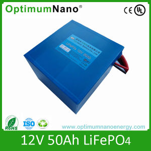 LiFePO4 Battery 12V 50ah for Solar Street Light pictures & photos