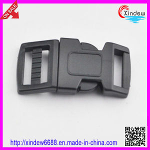 Black Plastic Buckles for Bags and Suitcase Bag Buckles (XDZY-002) pictures & photos