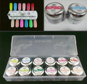 Professional Nail Art Easy Soak off 10g Jelly Gel UV Color Gel Painting UV Gel pictures & photos