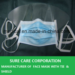 Disposable Surgical Face Mask with Shield pictures & photos