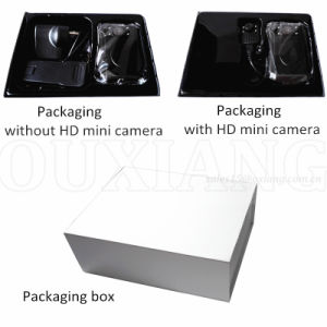 HD1080p Police Video Recorder Camera with 120degree Lens and External Mini Camera pictures & photos