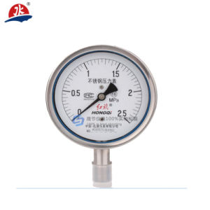 Hot Selling Water Treatment Oil Filled Pressure Gauges pictures & photos