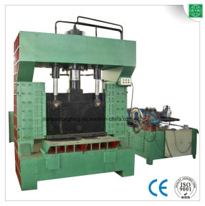 Steel Square Scrap Metal Guillotine Cutting Machine pictures & photos