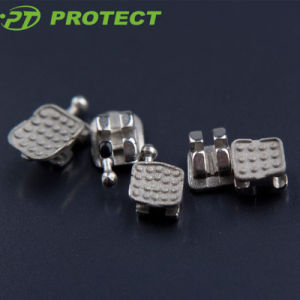 Protect Super Series Metal Orthodontic Bracket Sandblasted Base pictures & photos