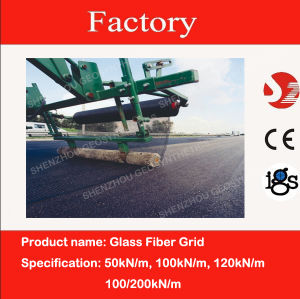 Glass Fiber Asphalt Reinforcement Grid 100/200 with CE Marking