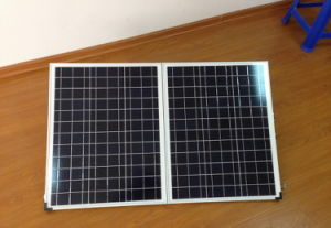 Portable 120W Folding Solar Panel with 10m Cable for Camping pictures & photos