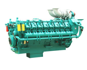 50Hz 1740kw-2066kw Power Plant Diesel Engine for Large Generator pictures & photos