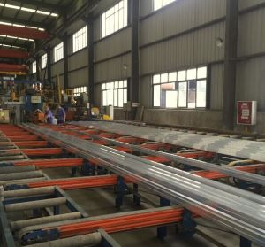 Aluminium Extrusion Customized Design Section Full Finished pictures & photos