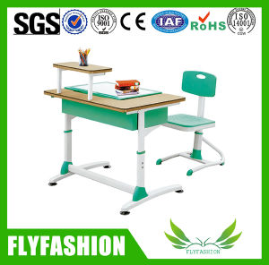 Hot Sale New Design Single School Desk and Chair (SF-16S) pictures & photos