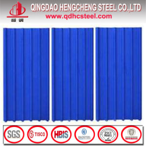 Prepainted Galvanized Steel Roof Panel Colored Corrugated Roofing Sheet pictures & photos