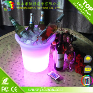 LED Ice Bucket, LED Ice Bucket Party Cooler pictures & photos