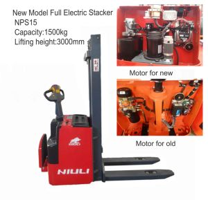 New Brand Full Electric Stacker pictures & photos