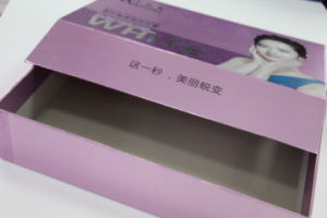 Cosmetic Paper Boxes with Logo Embossed, Square Style pictures & photos