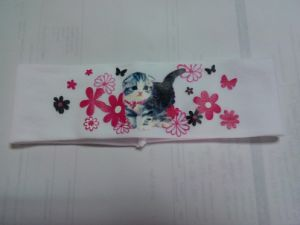 Cute Headband Printed with Cat pictures & photos