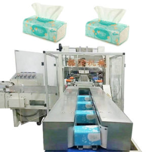 Napkin Packaging Machine for Tissue Paper Packaging pictures & photos