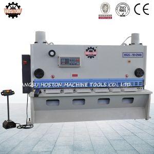 CNC Hydraulic Guillotine Plate Shearing Machine