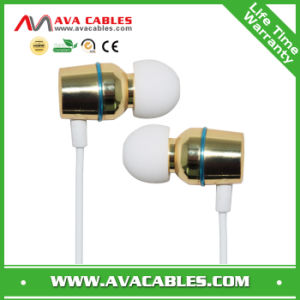 Cheap Metal in Ear Headphone with Microphone for Mobile Phone