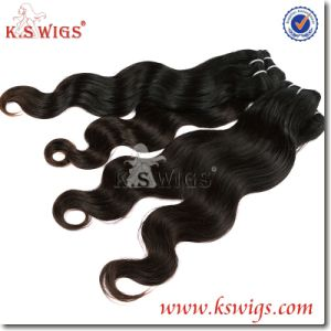 Premium Grade Indian Raw Hair Extension Remy Human Hair pictures & photos