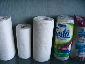 Kitchen Cleaning Paper Towel Rolls pictures & photos