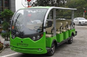 14 Seaters Electric Tourist Buggy Made in China pictures & photos