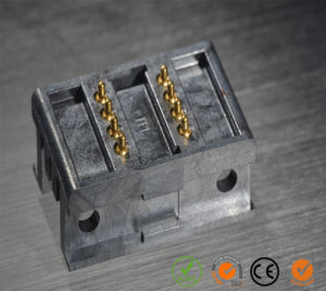 Double Row SMT 8-Pin Spring Loaded Pogo Contact Connectors