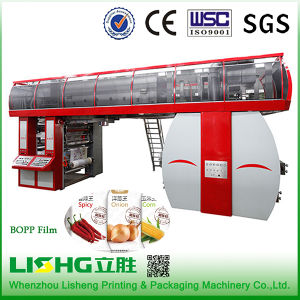 6 Colour High-Speed Ci Flexo Printing Machine for Plastic pictures & photos