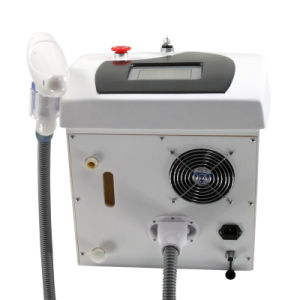 Portable Salon Ans SPA Use ND: YAG Q Switch Laser Tattoo Removal Machine pictures & photos