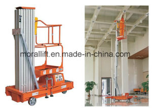 Vertical Aluminum Alloy Hydralic Lift Table pictures & photos