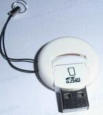 Round Style USB2.0 Card Reader