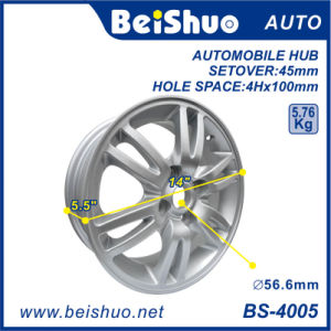 Aluminium Alloy Wheel Hub Rim with Silver Surface pictures & photos